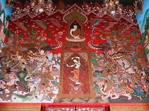ヤムの会ミニトリップ、タイ寺院ワット・パクナム参拝とタイ料理クルワ・リム・ターン_c0030645_12325457.jpg