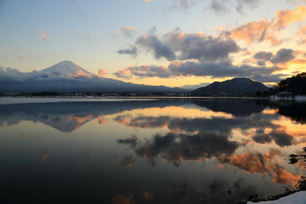 Sunset fuji_e0069488_1812360.jpg