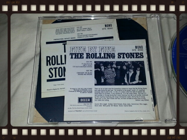 THE ROLLING STONES / THE ROLLING STONES & FIVE BY FIVE_b0042308_2343109.jpg
