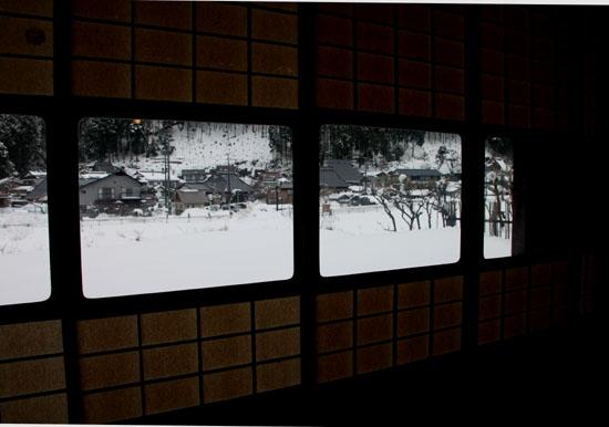葛川かやぶきの家 雪の中_e0048413_17583735.jpg