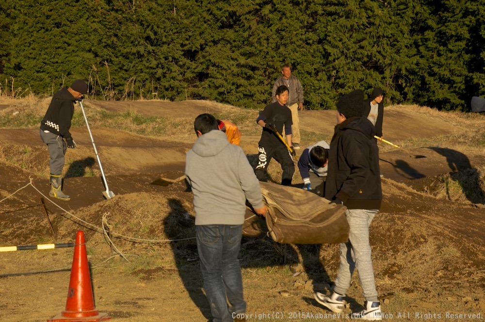 1月18日緑山コース開放日の風景_b0065730_19374738.jpg