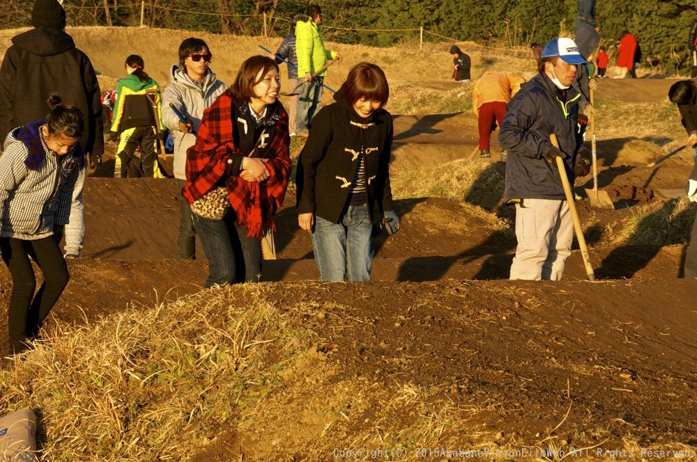 1月18日緑山コース開放日の風景_b0065730_19395427.jpg