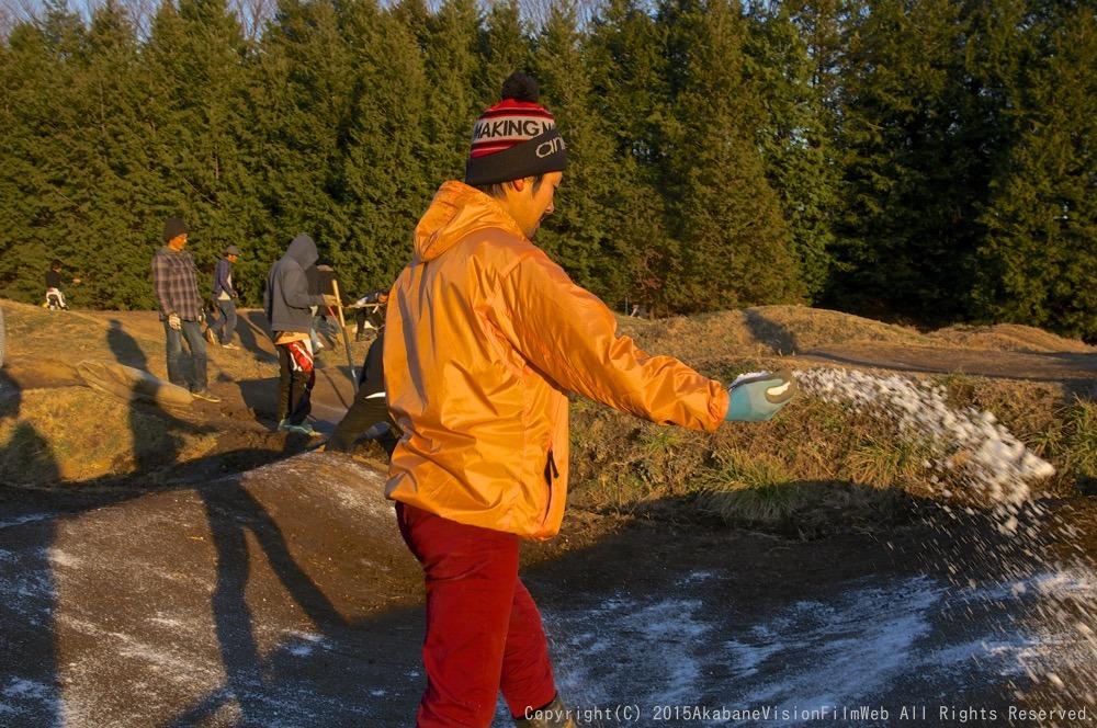 1月18日緑山コース開放日の風景_b0065730_19401415.jpg