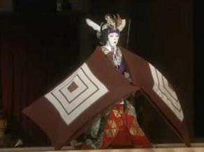 壽初春大歌舞伎 女暫に柿の葉寿司を持っていきました_c0030645_19173058.jpg