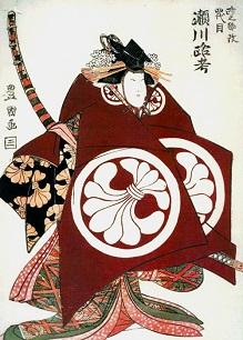 壽初春大歌舞伎 女暫に柿の葉寿司を持っていきました_c0030645_19232652.jpg