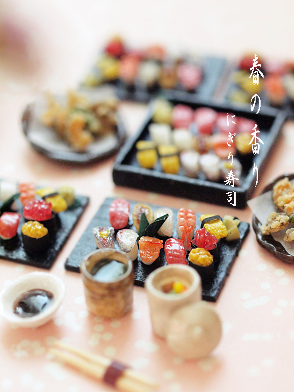 miniature* お寿司_e0172847_09520007.jpg