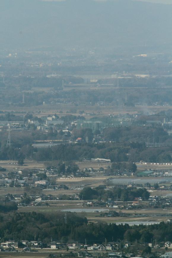 空気の澄む季節限定の八木岡俯瞰 - 2014年冬・真岡 -  _b0190710_20583435.jpg
