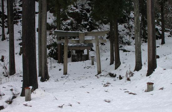 安曇川源流 雪景色_e0048413_21215241.jpg