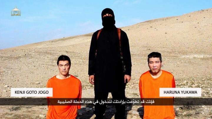 臭い芝居は元からたたなきゃダメ!:ISISの映像には不審点だらけ!_e0171614_21375234.jpg
