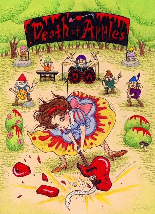 反逆の童話~白雪姫Ver.~ <つれづれイラストレーション49>_f0228652_434763.jpg
