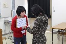 新潟翠江高等学校においてワークショップ「構造的暴力の中の私」を行いました。_c0167632_1736460.jpg