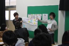 新潟翠江高等学校においてワークショップ「構造的暴力の中の私」を行いました。_c0167632_17371379.jpg