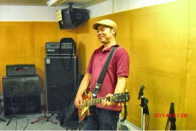 2015/1/21「BEAT ONのギター講師はお茶目!?」_e0242155_22131337.jpg
