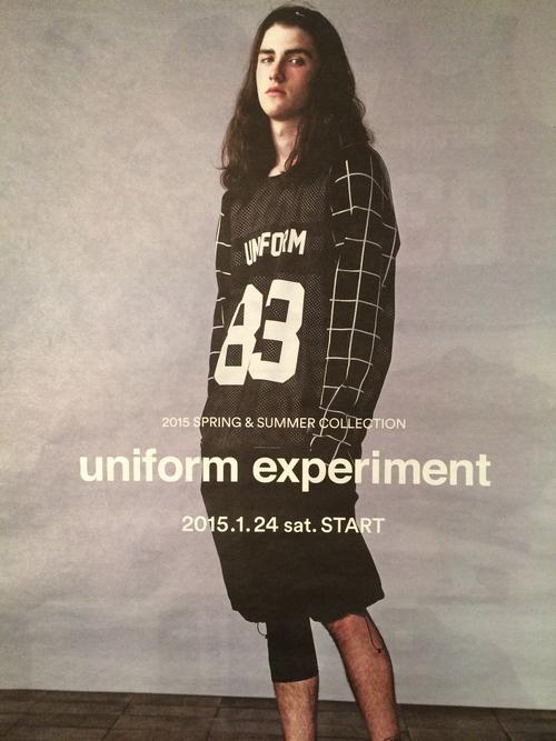 uniform experiment 2015 S/S COLLECTION 1.24 sat. START!!_c0079892_195892.jpg