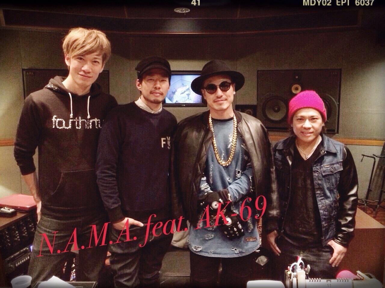 N.A.M.A. Remix feat. AK-69。_f0182998_21221633.jpg