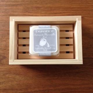 ヒノキの石鹸台_c0200314_17253629.jpg