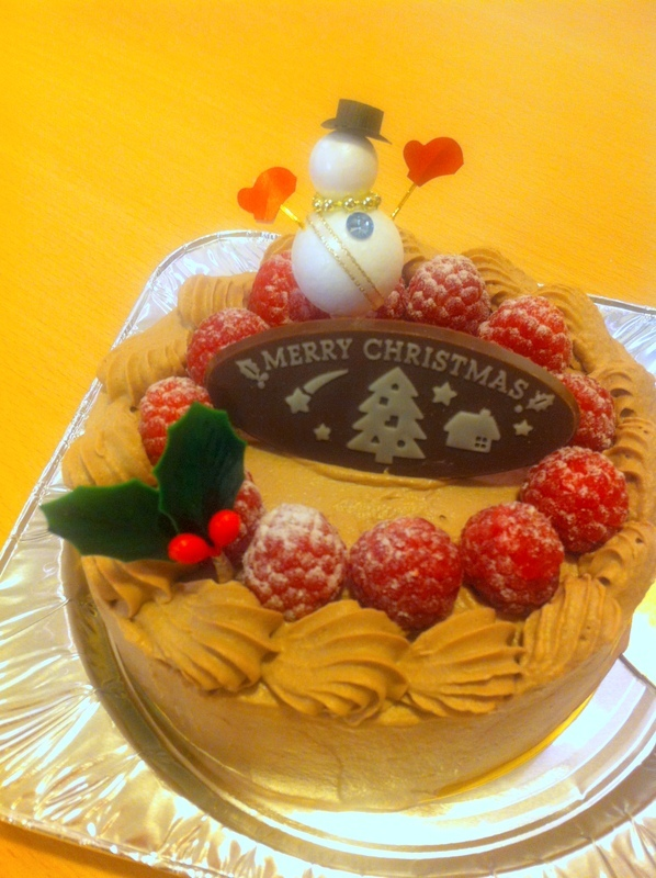 クリスマスケーキなど♪_f0141419_06360351.jpg