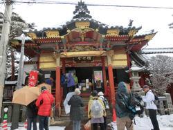 雪の善光寺_f0019247_16282237.jpg
