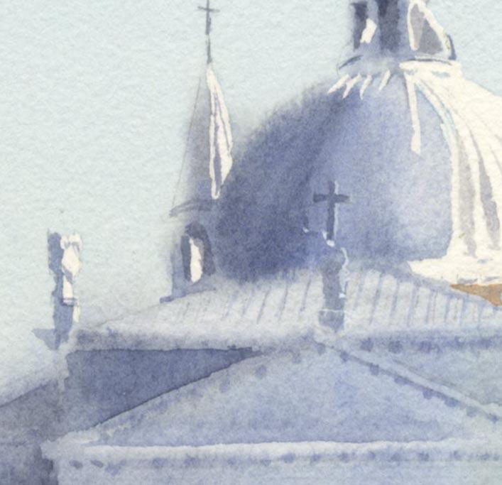 教会 水彩画_f0176370_15411449.jpg