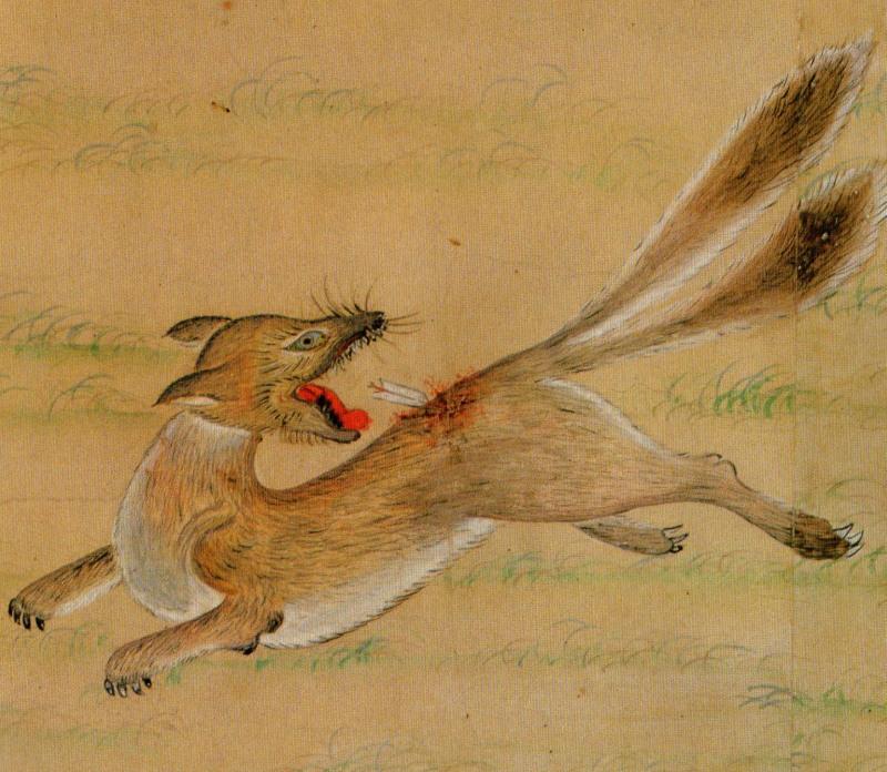 「遠野物語拾遺192(狐の石)」_f0075075_18342239.jpg