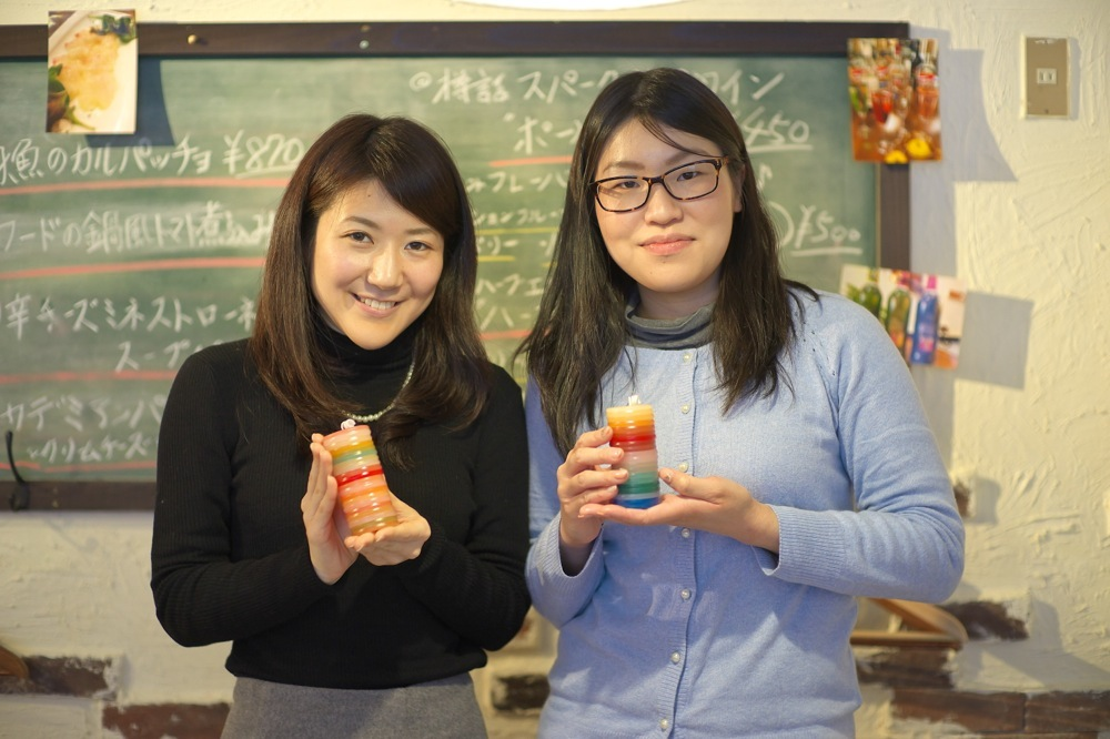 2015.1.18 KASANE candle WORKSHOP @EU Cafe_f0139898_12441541.jpg