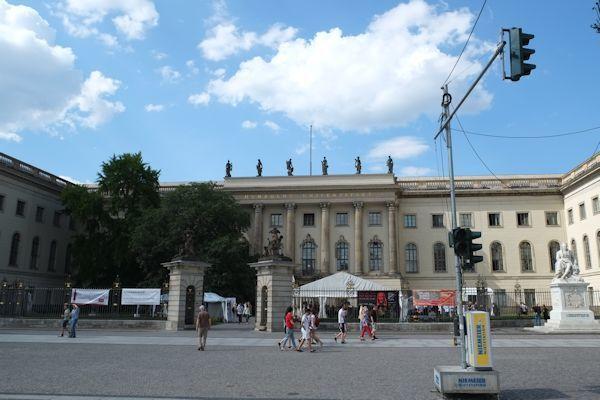 ベルリン フンボルト大学 : Lebe...