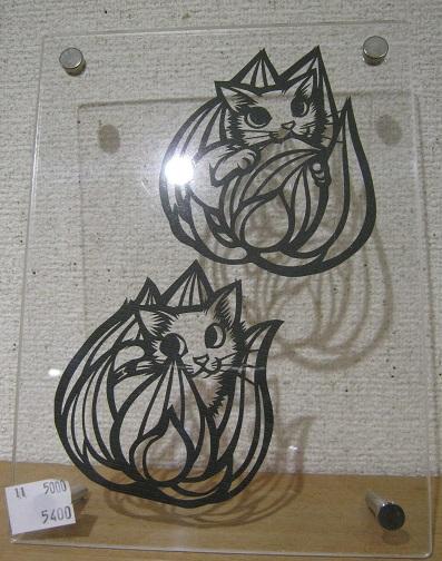 たまごの工房企画展 「高円寺裏通り猫 展」 その5_e0134502_2226612.jpg