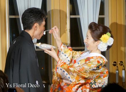 和装2種にあわせるヘッドドレス 椿山荘さんへ_b0113510_19341586.jpg