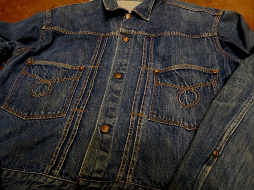 1/24(土)入荷!60'S~UNKNOWN 2POCKET DENIM JKT!_c0144020_1421012.jpg