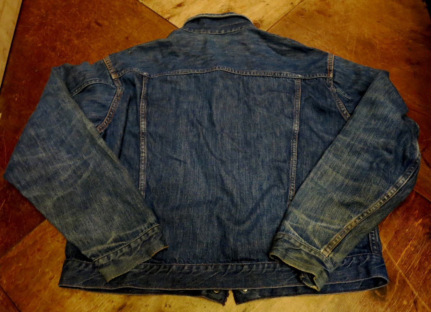 1/24(土)入荷!60'S~UNKNOWN 2POCKET DENIM JKT!_c0144020_1421139.jpg
