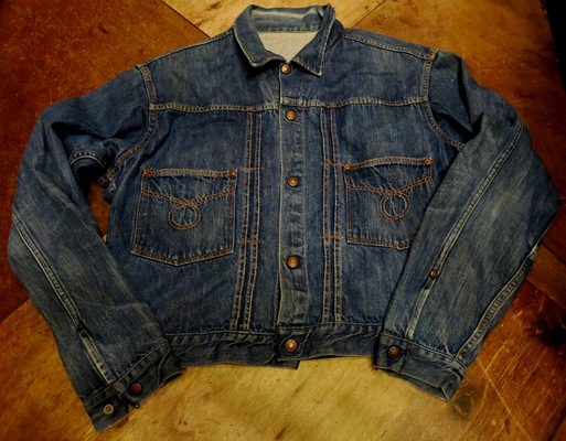 1/24(土)入荷!60'S~UNKNOWN 2POCKET DENIM JKT!_c0144020_142573.jpg