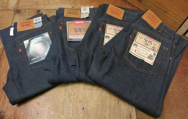 1/24(土)入荷!デッドストック MADE IN THE U.S.A Levi\'s 505 80'S~_c0144020_1465716.jpg