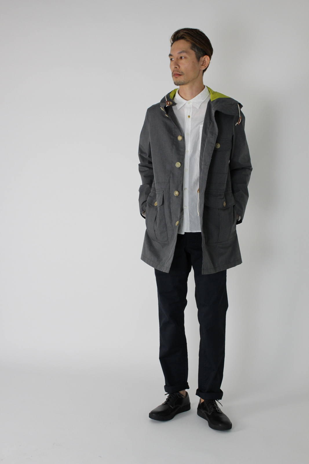 ◆Aggreve Fabric Out Door Coat _e0142928_21445714.jpg