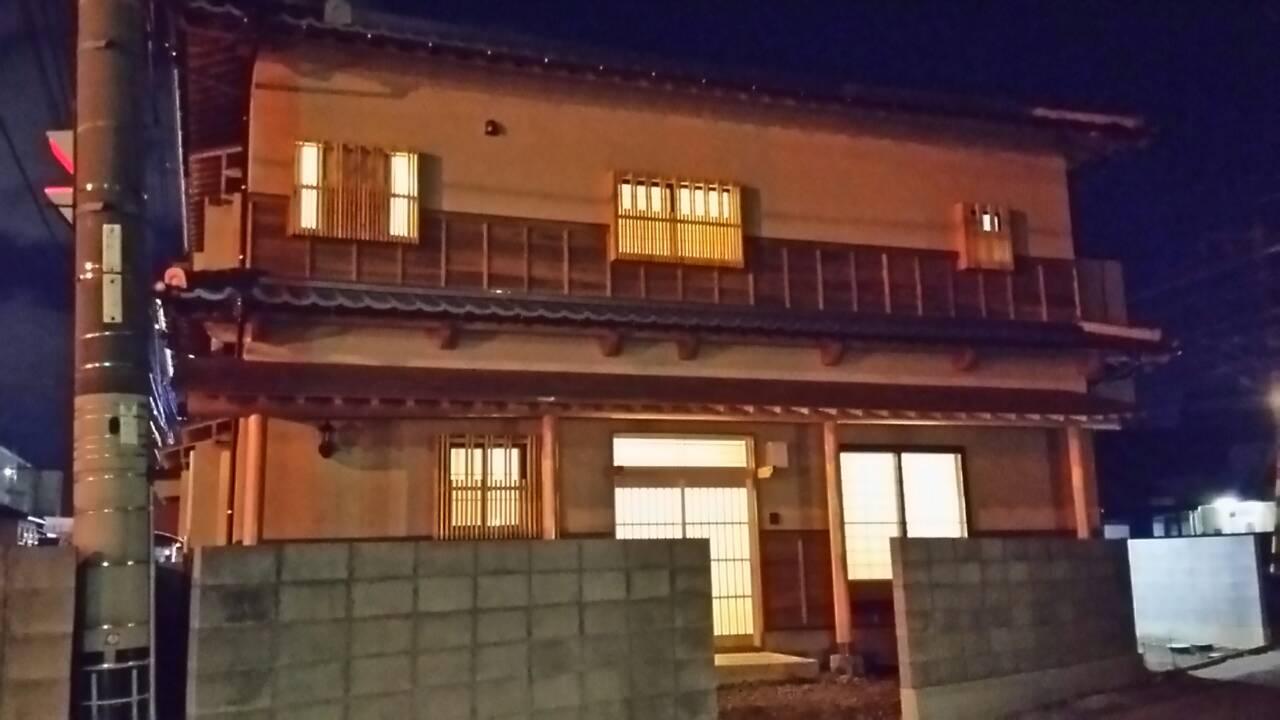 松山市I様邸新築工事 夜景⭐_a0167735_22451698.jpg