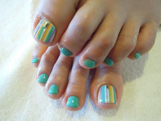 Green Foot Nail_a0239065_1319223.jpg