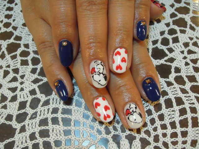 Snoopy Nail_a0239065_1326337.jpg