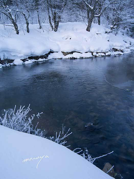 厳冬の川_c0085877_07231290.jpg