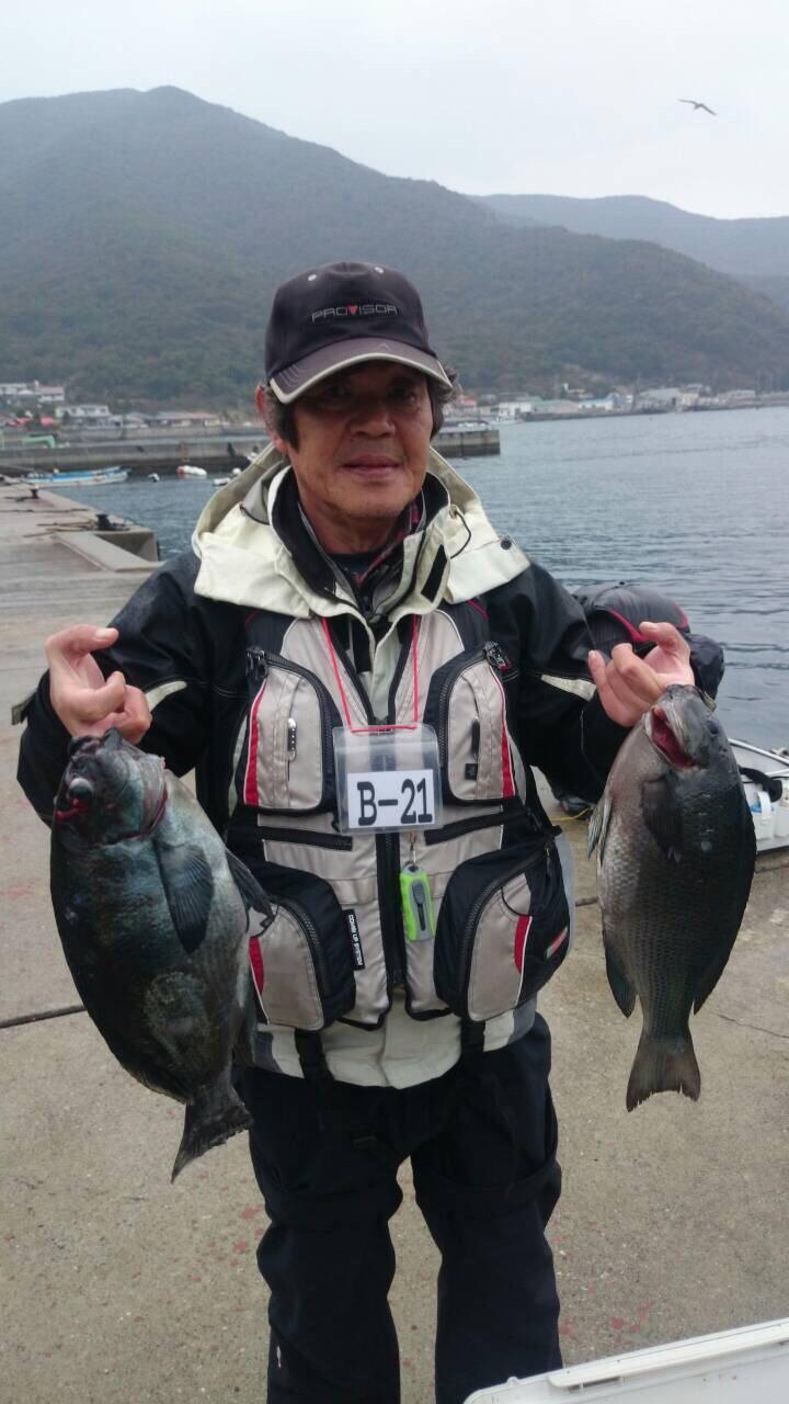 1/21 武者泊 釣り大会続報で〜す!( ´ ▽ ` )ノ_f0142086_11314345.jpg