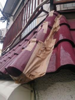 大山ハッピーロード近所で瓦屋根修理_c0223192_22403089.jpg
