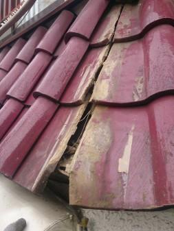 大山ハッピーロード近所で瓦屋根修理_c0223192_22411794.jpg