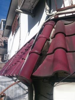 大山ハッピーロード近所で瓦屋根修理_c0223192_22422521.jpg