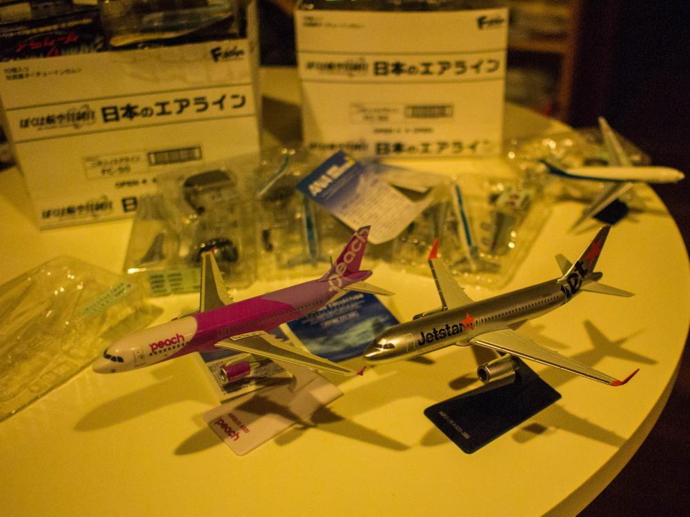 """かわいい""""カラ類""""と・・お客さんから頂いた""""飛行機の模型""""_f0276498_10564266.jpg"""