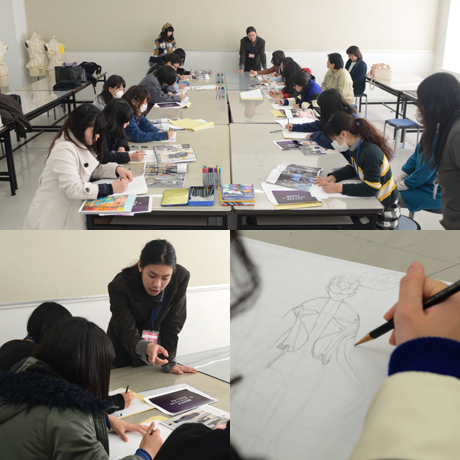 2015年1月24日にNSCカレッジではミニ体験入学&見学相談会を開催しました2_b0110019_1437222.jpg