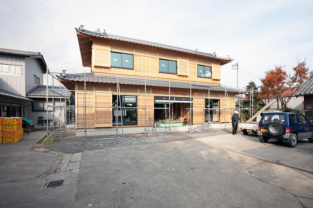 木造2階建て風格ある土壁の家 -第4回-_a0163962_730296.jpg