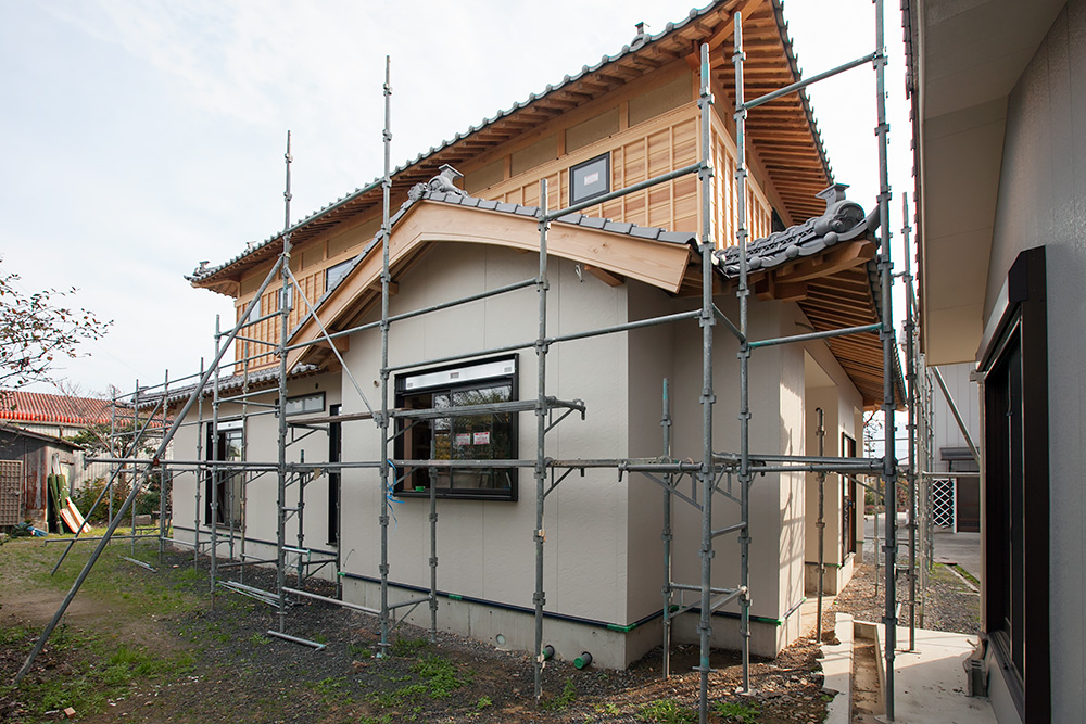木造2階建て風格ある土壁の家 -第4回-_a0163962_7303656.jpg
