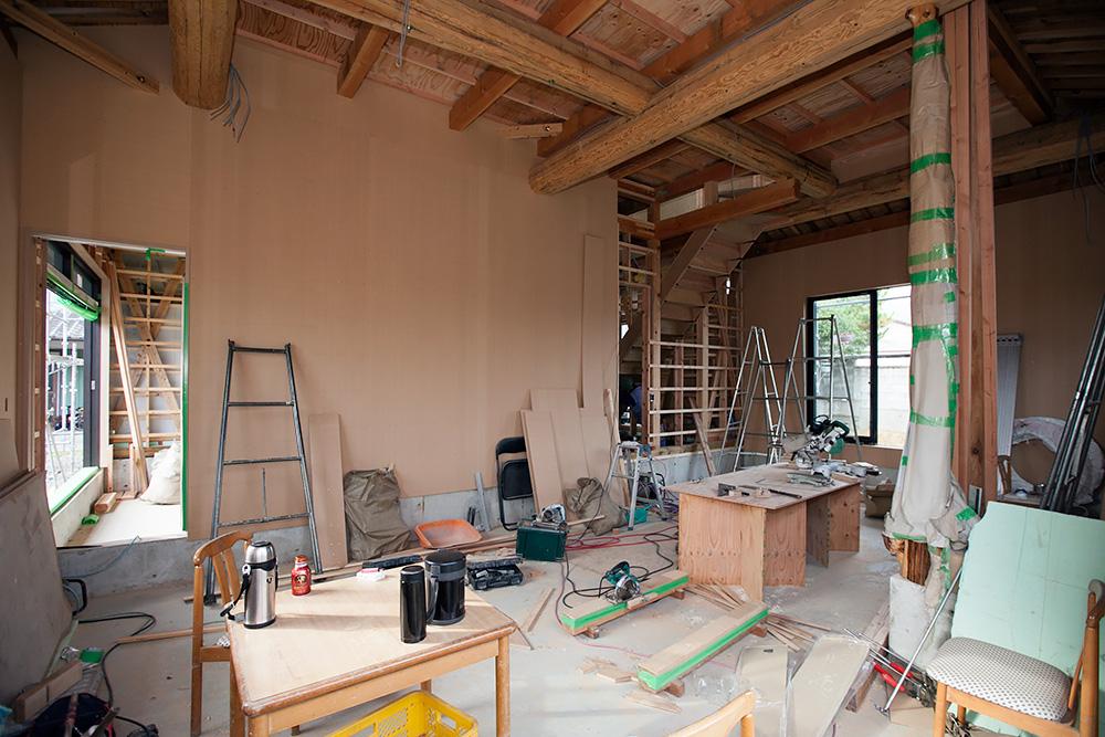 木造2階建て風格ある土壁の家 -第4回-_a0163962_7304654.jpg