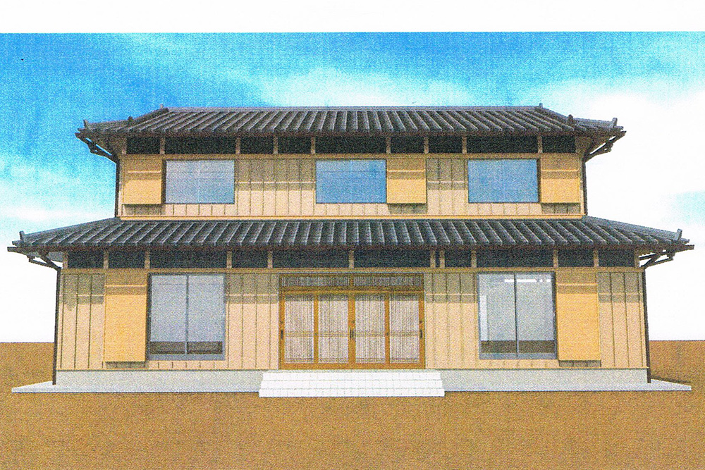 木造2階建て風格ある土壁の家 -第4回-_a0163962_7305790.jpg