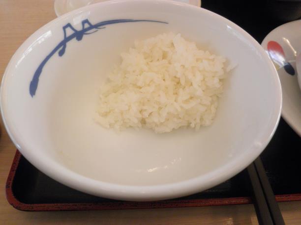 松屋のブラウンシチューハンバーグ定食  門真店_c0118393_11161257.jpg