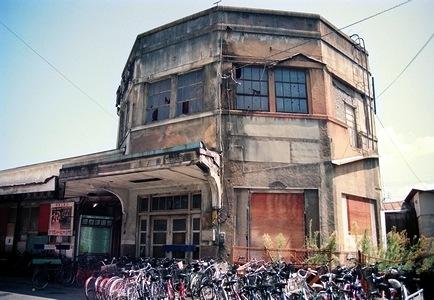 高松琴平電気鉄道  瓦町駅旧駅舎_e0030537_18533145.jpg