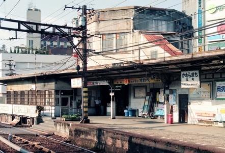 高松琴平電気鉄道  瓦町駅旧駅舎_e0030537_18534658.jpg